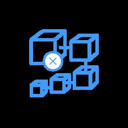 PIX factory feature icon: decentralized