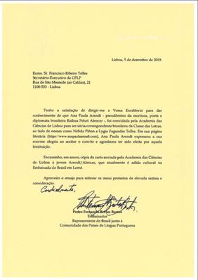 carta à cplp