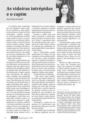 Fábula publicada na Revista Ómnira