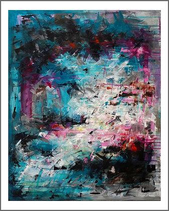 Nr. 12, Lodret, 80 x 100