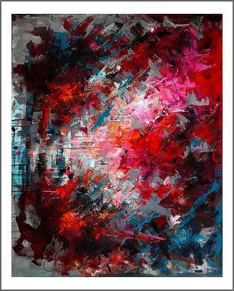Nr. 14, Lodret, 100 x 80