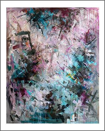 Nr. 15, Lodret, 80 x 100