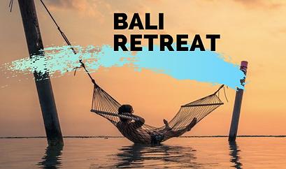 Yoga, air yoga, meditation retreat Bali 2020