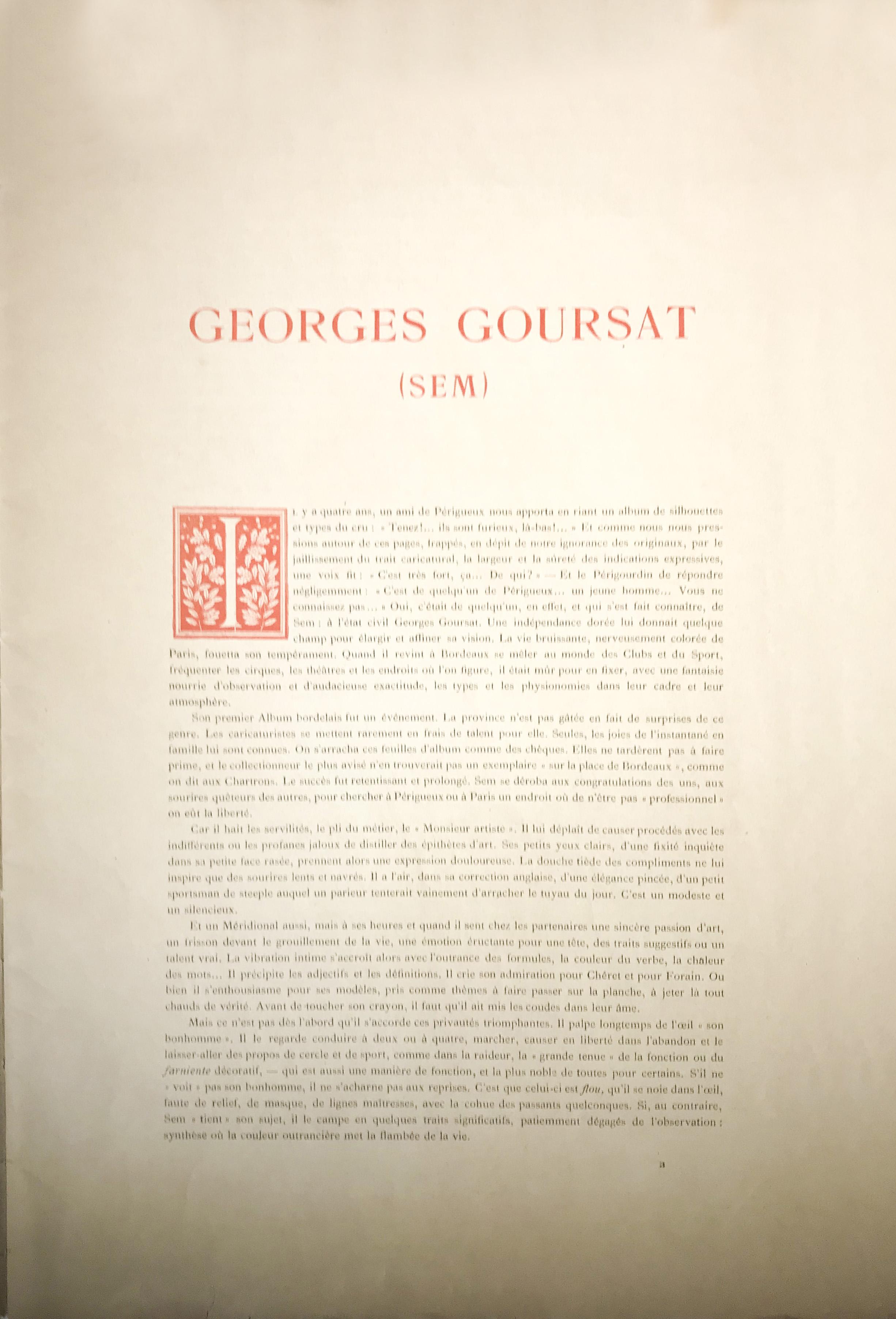 Sem Goursat Album 5 - Preface