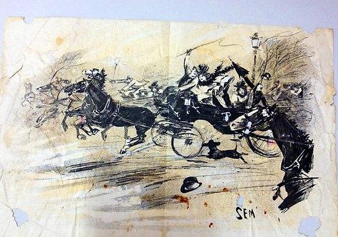 Tourny Noel 1895 1er edition