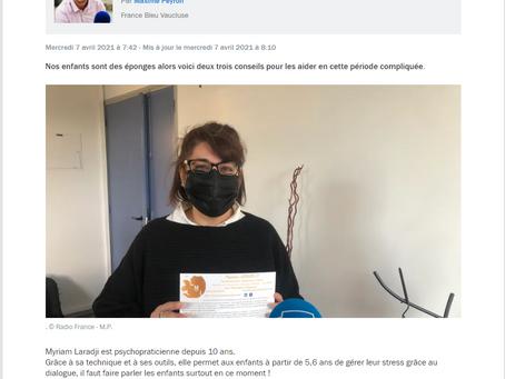 RDV avec Maxime France Bleu Vaucluse : le stress & les enfants (partie 2 en vidéo)