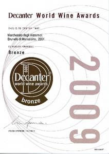 Decanter Brunello 2004