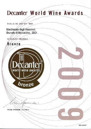 Decanter Brunello 2004