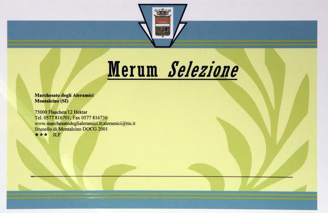 Merum Brunello 2001