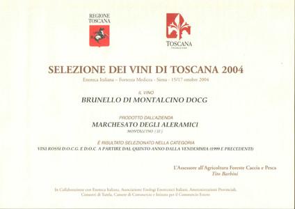 Selezione Toscana Brunello 2000