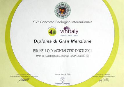 Vinitaly Brunello 2001