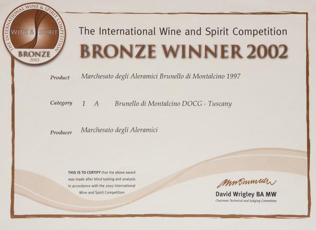 IWSC Brunello 1997