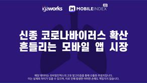 신종 코로나바이러스 확산, 흔들리는 모바일 앱 시장