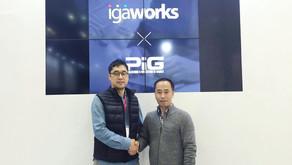 아이지에이웍스, 게임 사업 전문 컨설팅 기업 P.I.G.와 업무 협약 체결… 중소 모바일게임 개발사 지원 강화한다