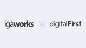 아이지에이웍스, '디지털퍼스트'에 100억 원 투자… 전략적 제휴 체결