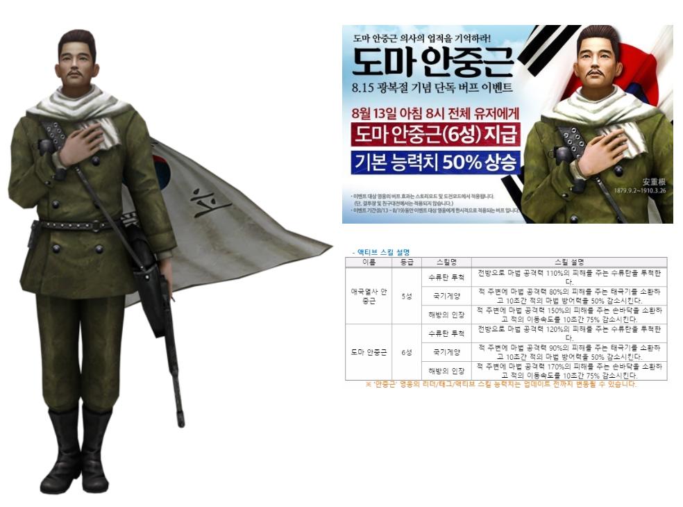 출처:영웅 for Kakao 네이버 공식 카페