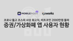 증권/가상화폐 앱 사용자 현황