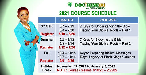 Doc101zoom 2021course schedule STORYBOAR