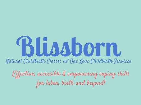 Spring Blissborn Classes Announced