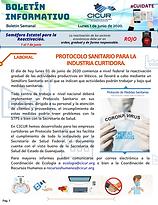 Boletin Informativo - 1 de junio de 2020