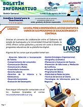Boletin Informativo - 17 de agosto de 20