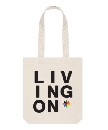 Living On Tote Bag