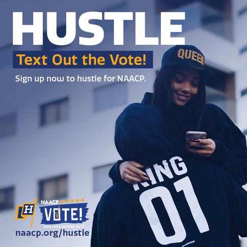 NAACP Hustle Flier Couple