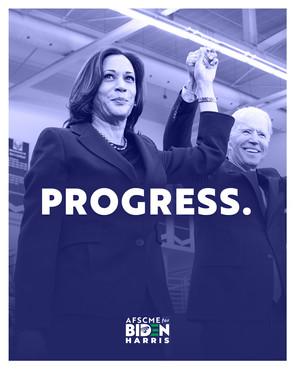 Biden Harris Win Poster (Progress)