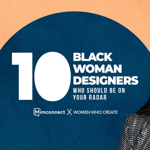 10 Black Woman Designers Slide graphic cover