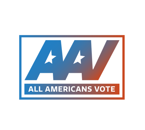 All Americans Vote Logo