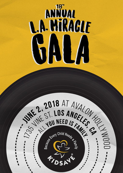 LA Miracle Gala Save The Date