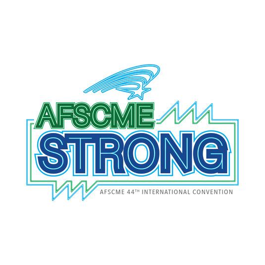 2020 AFSCME Strong CONV Logo