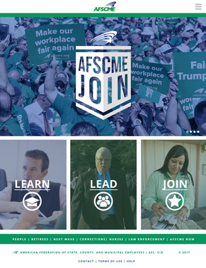 AFSCME Join - Landing Page Mock Up