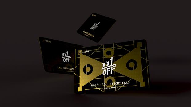xx1 / OFF Membership Card