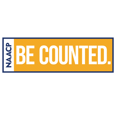 NAACP - Be Counted-Census Logo