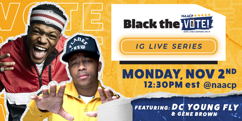 NAACP Black the Vote IG Series