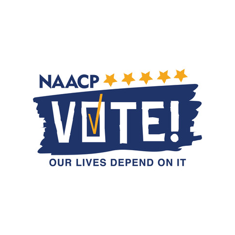 NAACP Vote Our Lives Depend On It Logo
