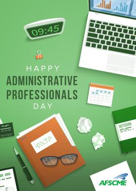 Admin Day Graphic