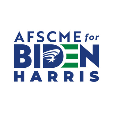AFSCME for Biden Logo