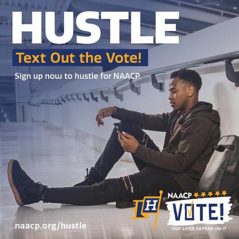 NAACP Hustle Flier