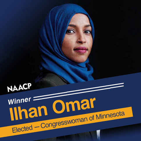 NAACP Winner Ilhan Omar