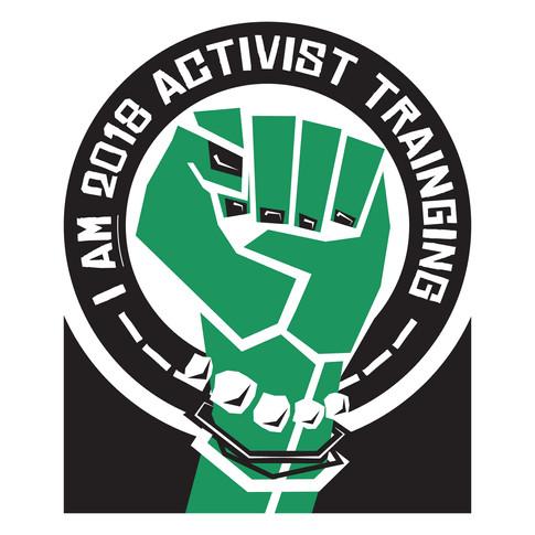 I AM 2018 Activist training Logo