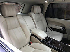 Luxury seating layout has two individual Cooled, Headed, and Massage Seats,