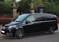 VipSec Mercedes Minivan Funeral Car