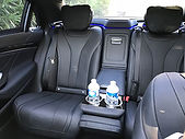 VipSec Mercedes-S-Class-Luxury interior.
