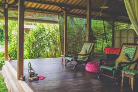 Darshana Veda Spa Relaxation Area