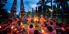 Balinese cultural performance