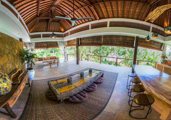 Villa Rahasiah Living room