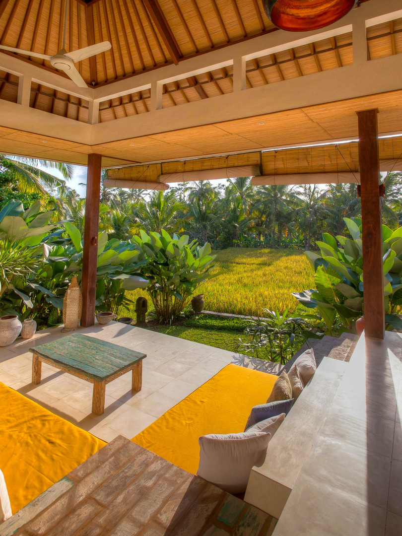 Villa Ganapati living space