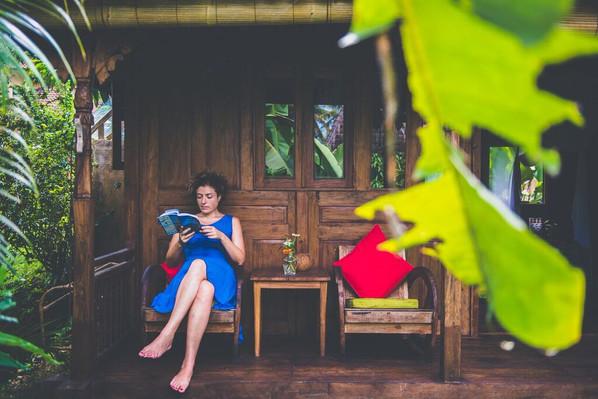 Darshana Bungalows Porch